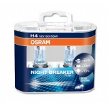 Osram NIGHT BREAKER PLUS Н4 +90% комплект (EUROBOX) Лампа галогеновая 2шт. в комплекте