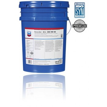 Chevron Delo 400 LE SYNTHETIC 5W40 18.9 л.