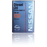 NISSAN Motor Oil EXTRA SAVE X CD 5W30 4 л.