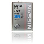 NISSAN Motor Oil  STRONG SAVE X SN 5W30 4 л.