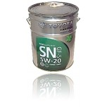 TOYOTA Motor Oil SN 5W20 (Япония) 20 л.