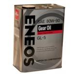 ENEOS GEAR GL-5 80/90 минеральное масло  0.94л.